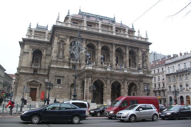 La Ópera de Budapest.