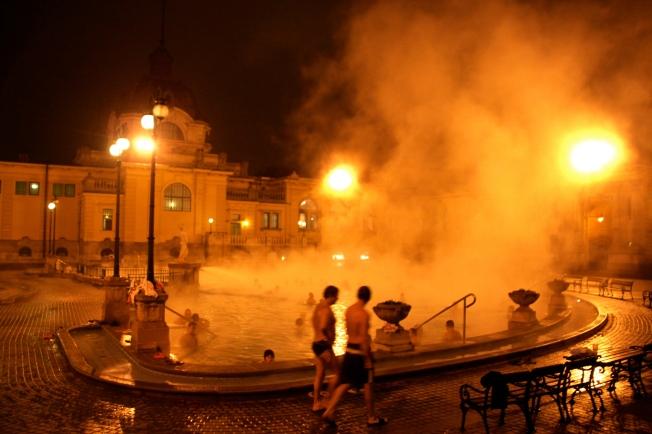 El Balneario Széchenyi